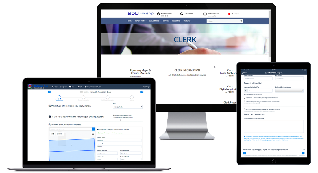 Clerk Municipal Management Software